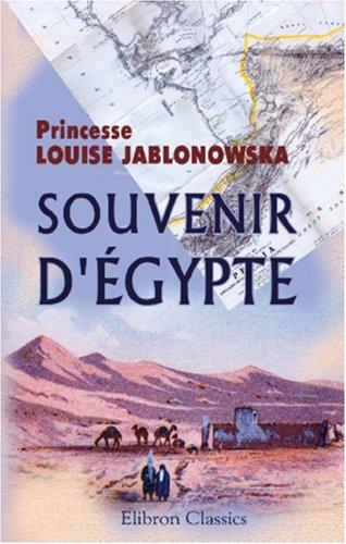 9780543877000: Souvenir d'Égypte (French Edition)