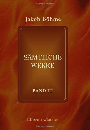 9780543882844: Sämtliche Werke: Band 3 (German Edition)