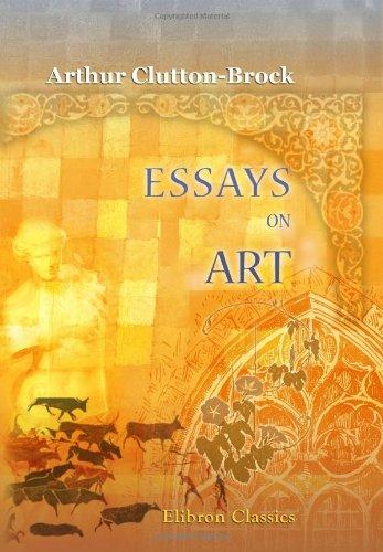 9780543890856: Essays on Art