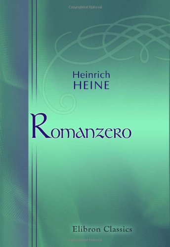 9780543893499: Romanzero (German Edition)