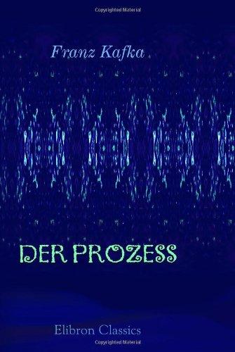 9780543894519: Der Prozess (German Edition)