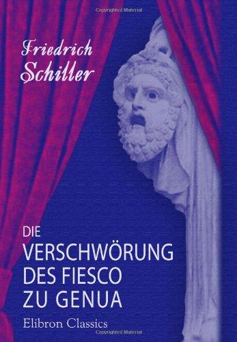 9780543895301: Die Verschwörung des Fiesco zu Genua (German Edition)