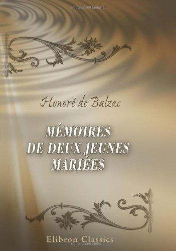 9780543897220: Mémoires de deux jeunes mariées (French Edition)