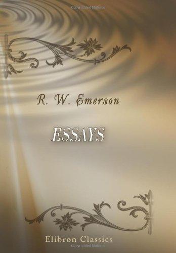 9780543897282: Essays