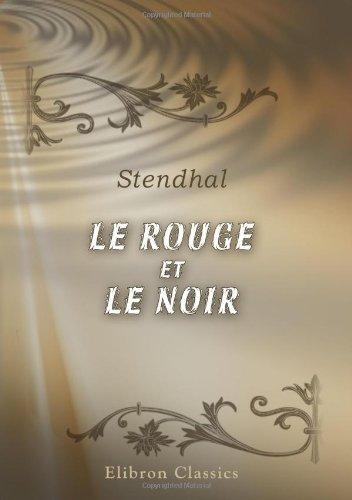 9780543897862: Le Rouge et le Noir (French Edition)