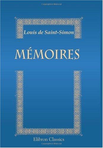 9780543897985: Mémoires