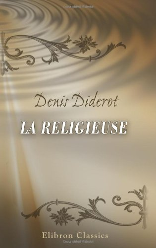 9780543898821: La Religieuse (French Edition)