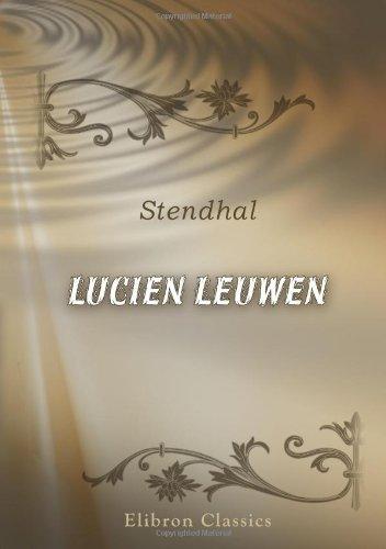 9780543899187: Lucien Leuwen