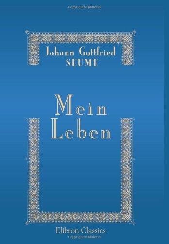 9780543899422: Mein Leben (German Edition)