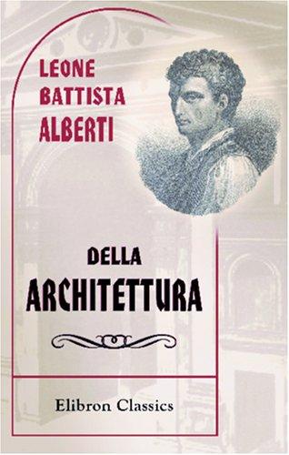 9780543944061: Della architettura, libri dieci