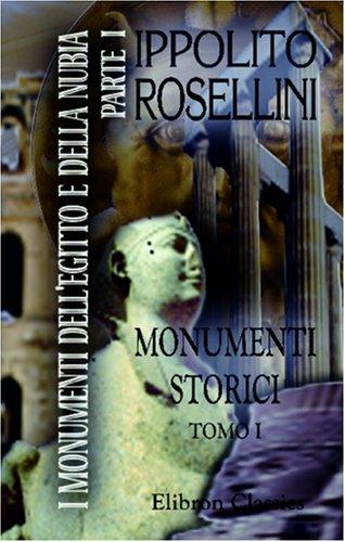 9780543946515: I monumenti dell' Egitto e della Nubia: Parte 1. Monumenti storici. Tomo 1