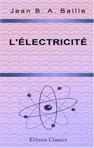 9780543999757: L'électricité