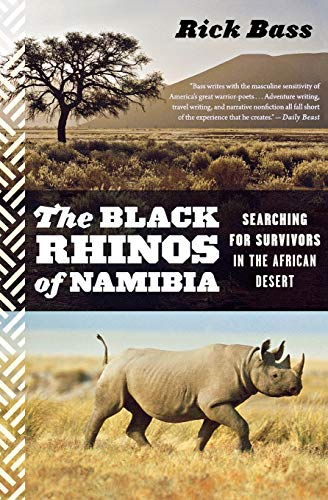 9780544002333: The Black Rhinos of Namibia: Searching for Survivors in the African Desert