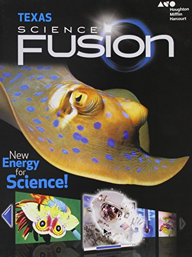 9780544025509: Science Fusion Texas: Student Edition Grade 4 2015 - soft workbook
