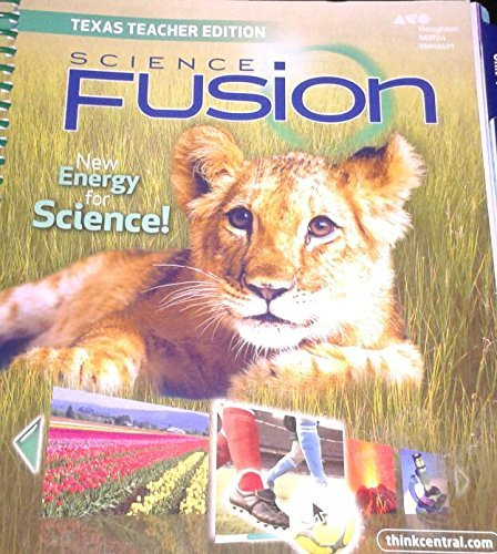 9780544025561: Houghton Mifflin Harcourt Science Fusion Texas: Teacher Edition Grade 1 2015