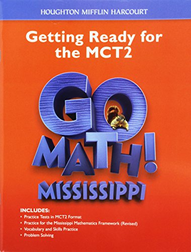 9780544029880: Houghton Mifflin Harcourt Go Math! Mississippi: Student Edition Test Prep Grade 2