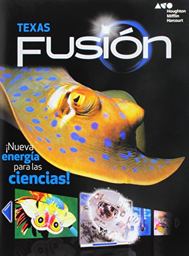 9780544031999: Science Fusion Spanish Texas Worktext Grade 4 (Houghton Mifflin Harcourt Science Fusion Spanish)