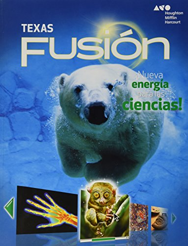 9780544032118: Holt McDougal Science Fusion Spanish Texas: Student Edition Worktext Grade 7 2015 (Spanish Edition)
