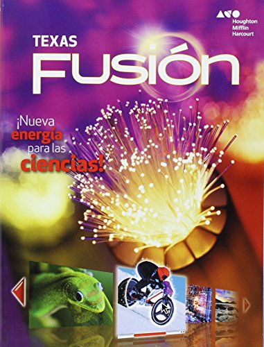 9780544032132: Holt McDougal Science Fusion Spanish Texas: Student Edition Worktext Grade 6 2015 (Spanish Edition)