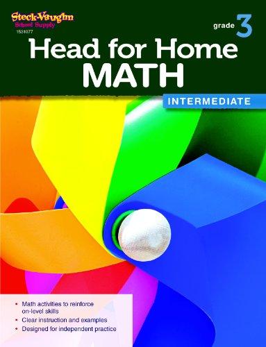 9780544038349: Head for Home Math: Intermediate Workbook Grade 3