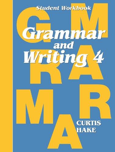 9780544044210: Grammar & Writing: Student Workbook Grade 4