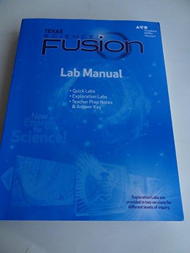 9780544046030: Texas Science Fusion Grade 8 Lab Manual