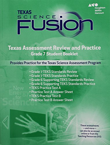 9780544046191: Holt McDougal Science Fusion Texas: Texas Assessment Review and Practice Grade 7
