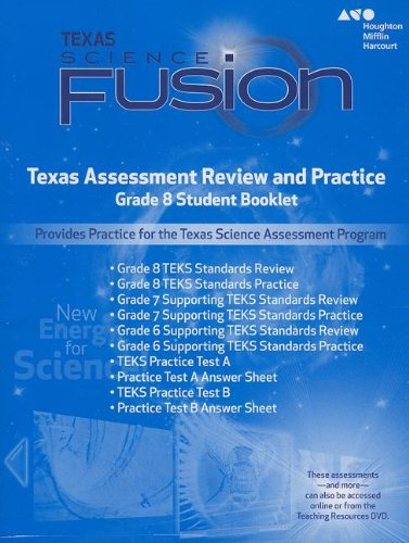 Holt McDougal Science Fusion Texas: Texas Assessment: MCDOUGAL, HOLT