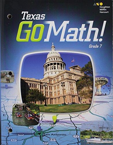 9780544050877: Holt McDougal Go Math! Texas: Student Interactive Worktext Grade 7 2015