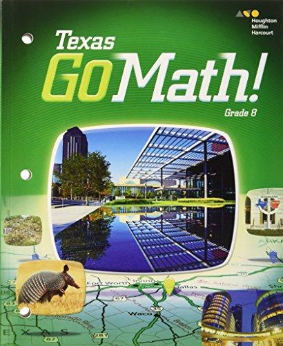 9780544052888: Go Math: Student Interactive Worktext Grade 8 2015