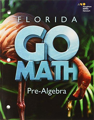 9780544056718: Go Math! Florida Student Interactive Worktext Pre-algebra (Holt Mcdougal Go Math!)