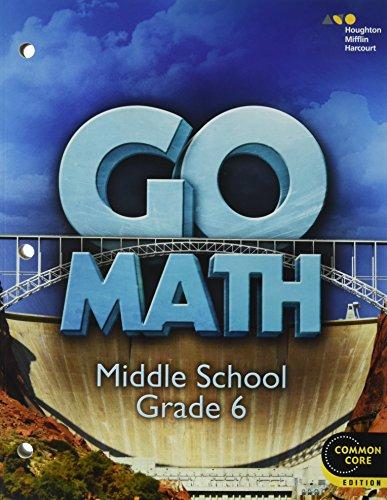 9780544056725: Go Math!: Student Interactive Worktext Grade 6 2014