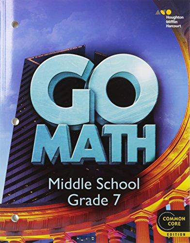 9780544056756: Go Math!: Student Interactive Worktext Grade 7 2014