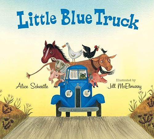 9780544056855: Little Blue Truck Lap Board Book