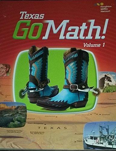9780544061552: Houghton Mifflin Harcourt Go Math! Texas: Student Edition, Volume 1 Grade 2 2015