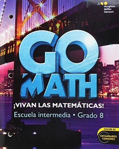 9780544064195: Go Math! Spanish Interactive WorkText Grade 8
