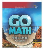 9780544065710: Go Math! Grade 6: Teacher Edition