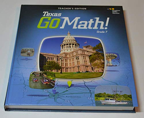 9780544066106: Holt McDougal Go Math! Texas: Teacher Edition Grade 7 2015