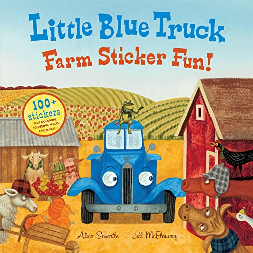 9780544066878: Little Blue Truck Farm Sticker Fun!