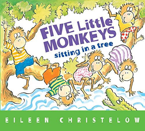 9780544083530: Five Little Monkeys Sitting in a Tree (A Five Little Monkeys Story)