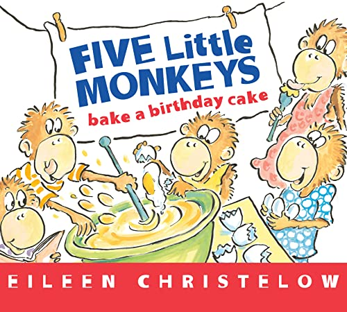 9780544084599: Five Little Monkeys Bake a Birthday Cake