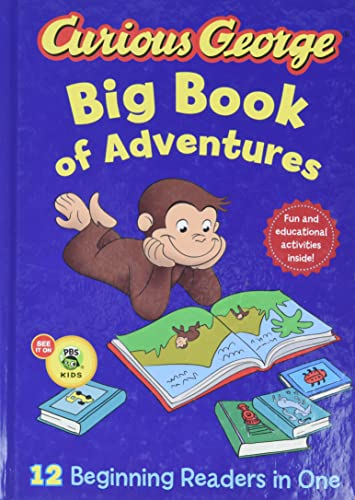 9780544084636: Curious George Big Book of Adventures (Cgtv)