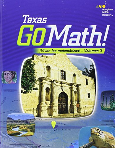 9780544086739: Go Math! Spanish Texas Grade 4: 2 (Houghton Mifflin Harcourt Go Math! Spanish)