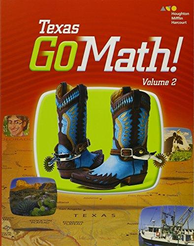 9780544086975: Houghton Mifflin Harcourt Go Math! Texas: Student Edition, Volume 2 Grade 2 2015