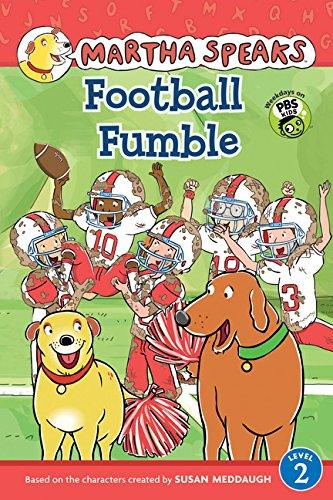 9780544089020: Martha Speaks: Football Fumble (Reader)