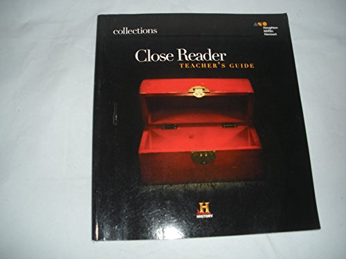 9780544089037: Collections: Close Reader Teacher's Guide Grade 7