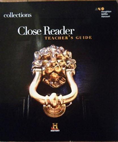 9780544092112: Houghton Mifflin Harcourt Collections: Close Reader Teacher Edition Grade 12