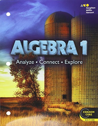 9780544102156: Holt McDougal Algebra 1: Student Interactive Worktext 2014