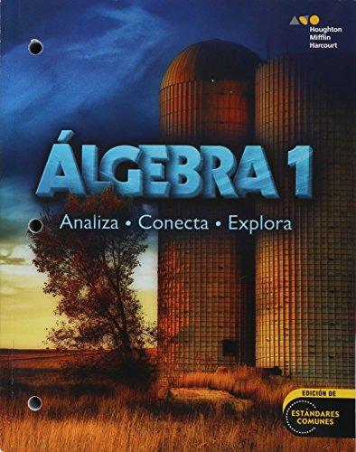 9780544102255: Holt McDougal Algebra 1, Spanish: Student Edition Consumable Worktext 2014