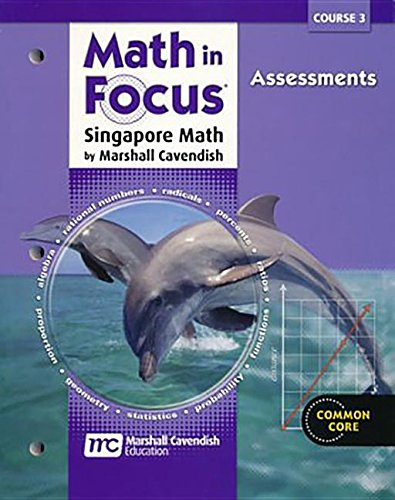 9780544102491: Math in Focus: Singapore Math: Common Core Student Assessment Workbook Grades 8